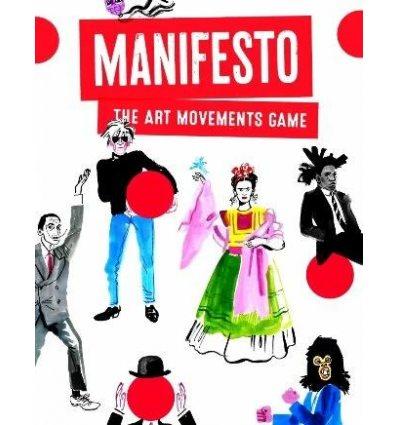 Картки Manifesto: The Art Movements Game Tamaki Lauren ISBN 9781786271631