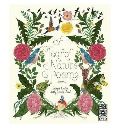 Книжка A Year of Nature Poems Joseph Coelho, Kelly Louise Judd ISBN 9781786035820