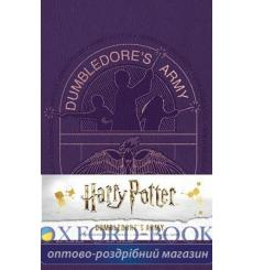 Блокнот Harry Potter: Dumbledores Army Hardcover Ruled Journal ISBN 9781683833246 купить Киев Украина