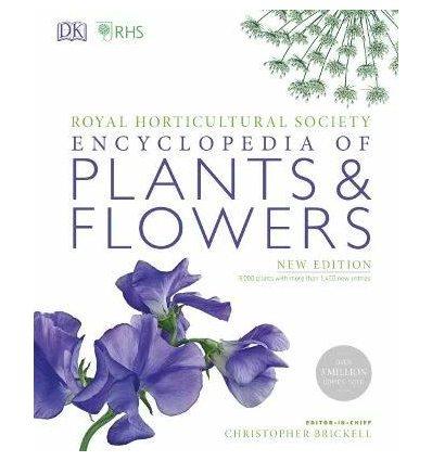 Книжка RHS Encyclopedia of Plants and Flowers Christopher Brickell ISBN 9780241343265