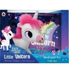 Іграшка,Книжка Ten Minutes to Bed: Little Unicorn Book and Toy Gift Set Rhiannon Fielding ISBN 9780241419892