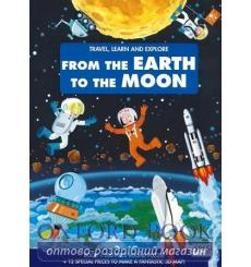 Книга,Пазл Travel, Learn and Explore: From the Earth to the Moon Book and Puzzle Matteo Gaule, Valentina Facci купить Киев Ук...