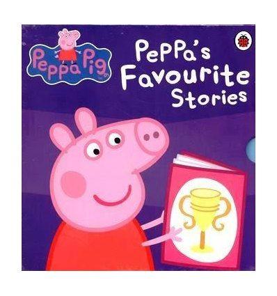 Набір книжок Peppa's Favourite Stories Slipcase ISBN 9780723292562