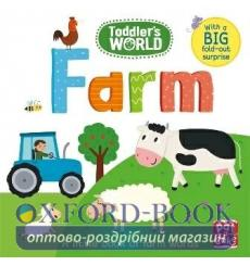 Toddlers World: Farm Villie Karabatzia 9781526380500 купить Киев Украина