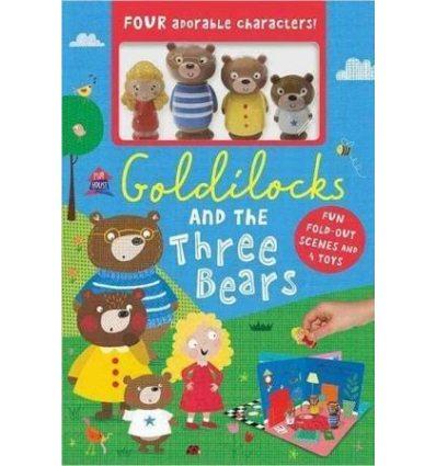 Книжка-Іграшка Playhouse: Goldilocks and the Three Bears Boxset Clare Fennell ISBN 9781789470659