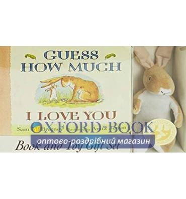 Книжка с игрушкой Guess How Much I Love You (Book and Toy Gift Set) Anita Jeram, Sam McBratney ISBN 9781406362985