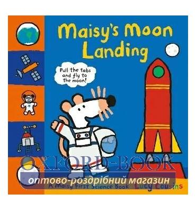Книжка-раскладушка Maisys Moon Landing Lucy Cousins ISBN 9781406364293