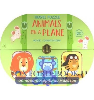 Книжка-пазл Travel Puzzle: Animals on a Plane Ester Tome, Giulia Meneguzzo ISBN 9788868608866