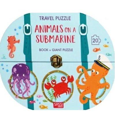Книжка-пазл Travel Puzzle: Animals on a Submarine Ester Tome, Giulia Meneguzzo ISBN 9788868604783