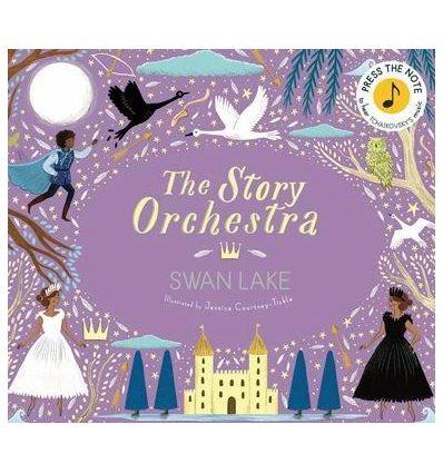 Книжка со звуковыми эффектами The Story Orchestra: Swan Lake Katy Flint ISBN 9780711241503