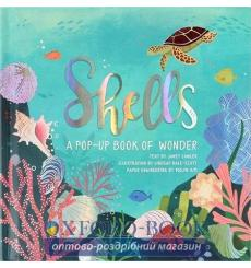 Книжка-раскладушка Shells: A Pop-Up Book of Wonder Janet Lawler, Yoojin Kim ISBN 9781623485269 купить Киев Украина