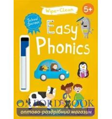 School Success: Wipe-Clean Easy Phonics Katie Woolley 9781526380876 купить Киев Украина