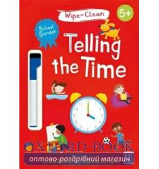 School Success: Wipe-Clean Telling the Time Katie Woolley 9781526380869 купить Киев Украина