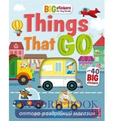 Big Stickers for Tiny Hands: Things That Go Alistar Lauren Holowaty 9781526380210 купить Киев Украина
