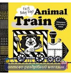 First Baby Days: Animal Train Mojca Dolinar 9781526381132 купить Киев Украина