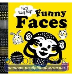 Книга First Baby Days: Funny Faces Mojca Dolinar ISBN 9781526380005 купить Киев Украина