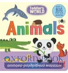 Toddlers World: Animals Villie Karabatzia 9781526380036 купить Киев Украина