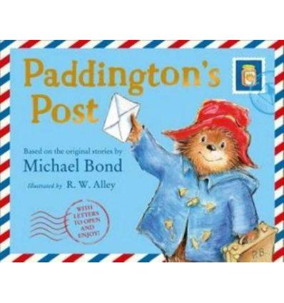 Книжка Paddington's Post Michael Bond, Robert W. Alley ISBN 9780008357245