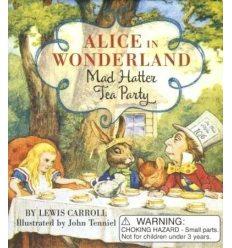 Іграшка,Книжка Alice in Wonderland: Mad Hatter Tea Party Set Lewis Carroll ISBN 9780762457458