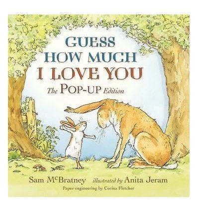 Книжка-раскладушка Guess How Much I Love You (The Pop-Up Edition) Anita Jeram, Sam McBratney ISBN 9781406327977