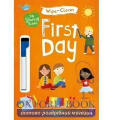 Книга Im Starting School: Wipe-Clean First Day Becky Down 9781526380142 купить Киев Украина