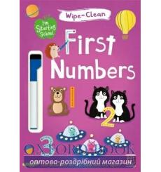 Книга Im Starting School: Wipe-Clean First Numbers Becky Down 9781526380104 купить Киев Украина