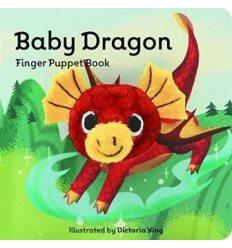 Книжка-Іграшка,Книжка с пальчиковой куклой Baby Dragon Finger Puppet Book Victoria Ying ISBN 9781452170770