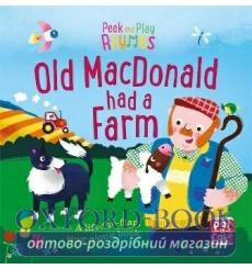 Книга Peek and Play Rhymes: Old Macdonald Had a Farm Richard Merritt 9781526380173 купить Киев Украина