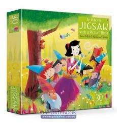 An Usborne Jigsaw with a Picture Book: Snow White and the Seven Dwarfs  Jacob Grimm 9781474929059 купить Киев Украина