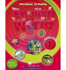 Книга English World 1 Teacher Book & Webcode Pack ISBN 9780230467521