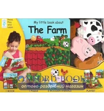 Книжка с игрушкой My Little Village: Farm ISBN 9788778845771