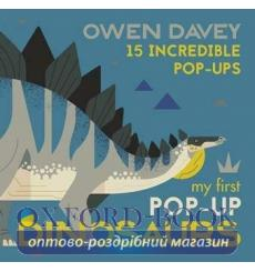 Книга My First Pop-Up Dinosaurs Owen Davey 9781406381696 купить Киев Украина
