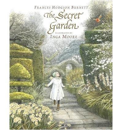 Книжка The Secret Garden Frances Hodgson Burnett, Inga Moore ISBN 9781406325362
