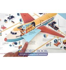 Книга с движущимися элементами The Ultimate Book of Airplanes and Airports Marc-Etienne Peintre ISBN 9791027603039 купить Кие...