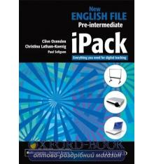 Ресурсы для интерактивной доски New English File Pre-Intermediate iPack Christina Latham-Koenig, Clive Oxenden