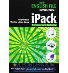 Ресурсы для интерактивной доски New English File Intermediate iPack Christina Latham-Koenig, Clive Oxenden ISBN 9780194518604