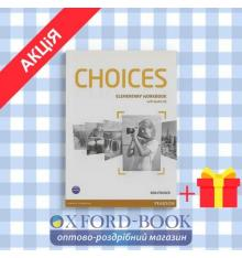 Рабочая тетрадь Choices Elementary workbook + CD ISBN 9781447901655