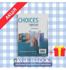 Учебник Choices Pre-Intermediate Students Book and MyLab PIN Code Pack ISBN 9781447905660