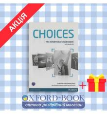 Рабочая тетрадь Choices Pre-Intermediate workbook + CD ISBN 9781408296196