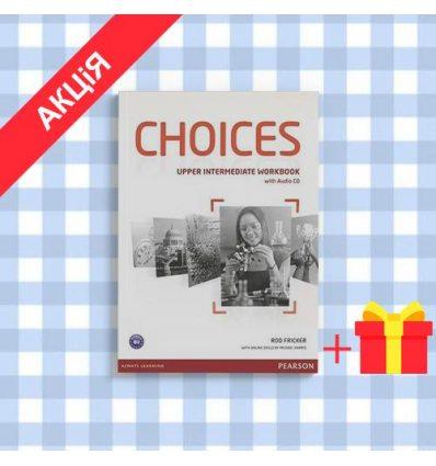 Тетрадь Choices Upper-Intermediate workbook + CD 9781447901679 купить Киев Украина