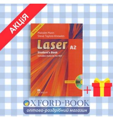 Учебник Laser A2 Students Book and CD-ROM Pack ISBN 9780230424739