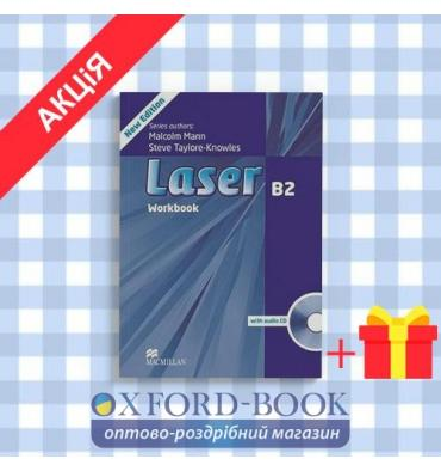 Рабочая тетрадь Laser 3rd Edition B2 workbook with Key and CD Pack ISBN 9780230433830