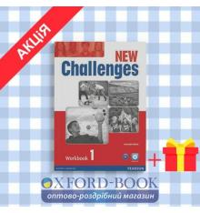 Рабочая тетрадь Challenges New 1 workbook with Audio CD ISBN 9781408284421