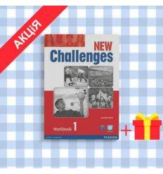 Рабочая тетрадь Challenges New 1 workbook with Audio CD ISBN 9781408284421