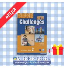 Учебник Challenges New 2 Students Book ISBN 9781408258378