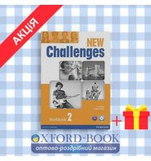 Рабочая тетрадь Challenges New 2 workbook with Audio CD ISBN 9781408286135