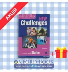 Учебник new challenges starter Students Book ISBN 9781408258354