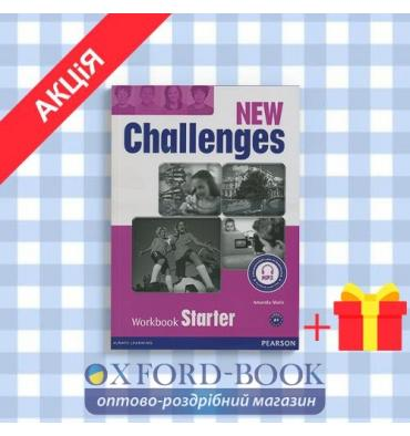 Рабочая тетрадь New Challenges Starter: Workbook with Audio CD ISBN 9781408298480