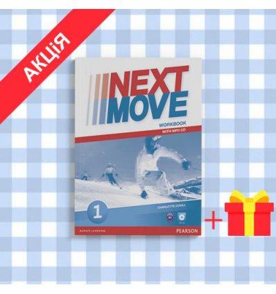 Рабочая тетрадь Next Move 1 workbook+CD ISBN 9781447943570