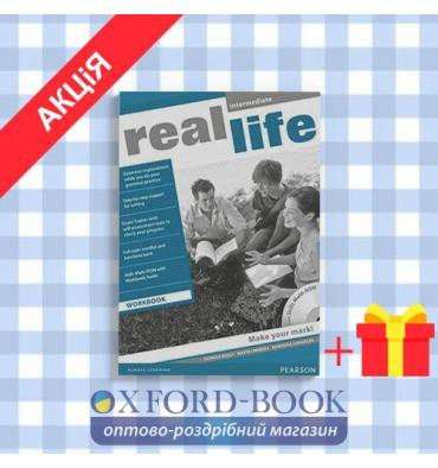 Рабочая тетрадь Real Life Intermediate Workbook with Audio CD/CD-ROM ISBN 9781408239469